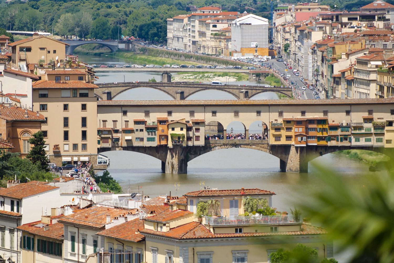 Флоренция, мост Понте-Веккьо