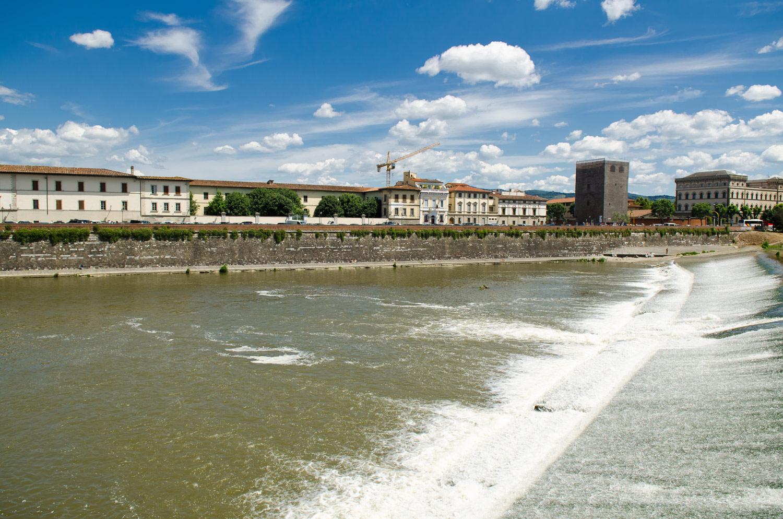Речка Арно, Флоренция