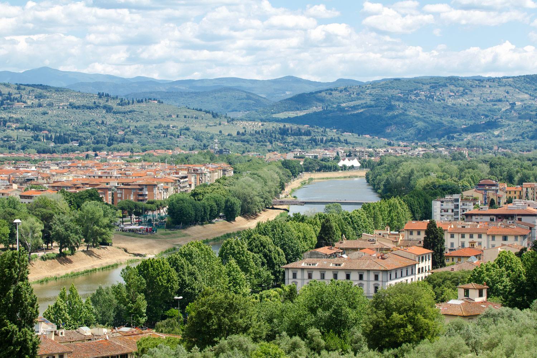 Вид на город, Флоренция