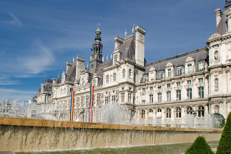 Hôtel de Ville, Париж