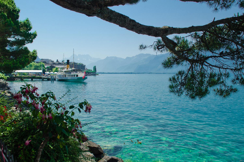 Женевское озеро, Монтрё