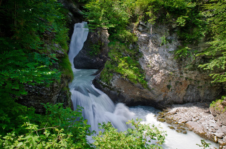 Начало Рейхенбахского водопада