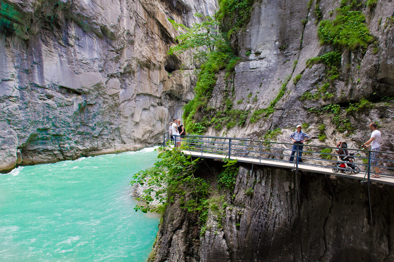 Ущелье Ааре, Швейцария