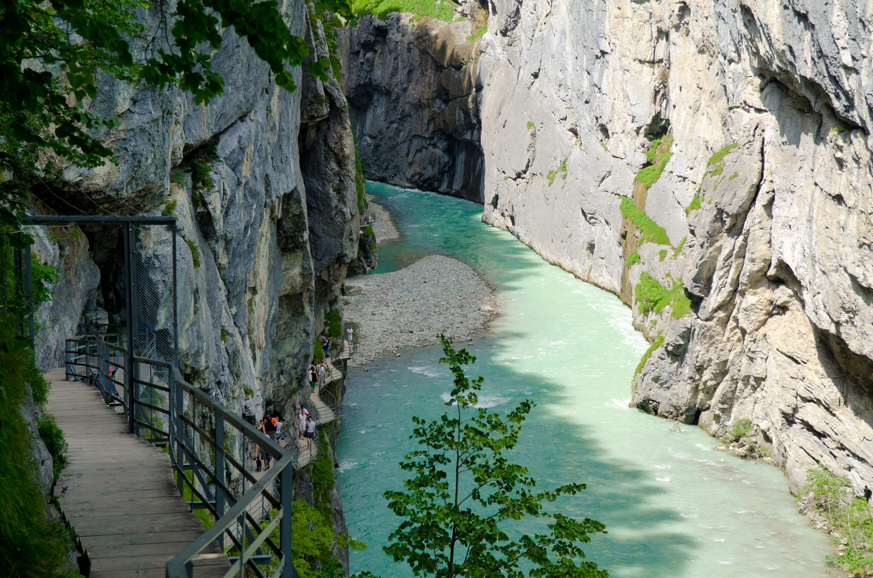 Ущелье Аара Швейцария