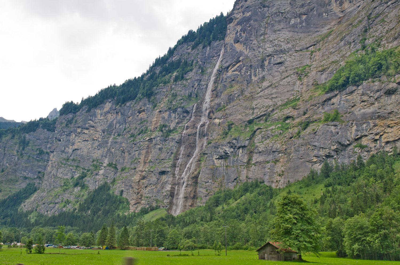Долина водопадов, Лаутербрунен, Швейцария